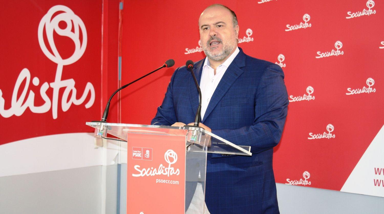 """Marín: """"Ahora desde la Diputación y la Junta estamos parando la sangría a la que sometió Cospedal a la provincia con el aplauso cómplice de los alcaldes del PP"""""""