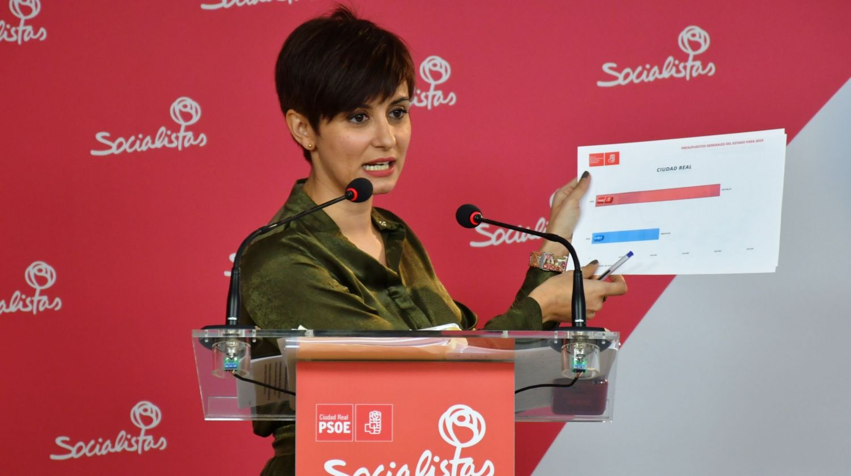 """Rodríguez valora los Presupuestos de Estado, """"sociales e inversores, que vuelven a mirar a Ciudad Real"""""""